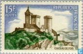 Postage Stamps - France [FRA] - Castle Foix