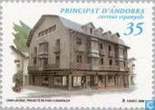 Postage Stamps - Andorra - Spanish - Architecture