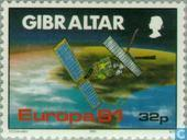 Postage Stamps - Gibraltar - Europe – Aerospace