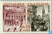 Postzegels - Frankrijk [FRA] - Bevrijding 20 jaar