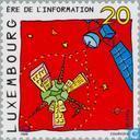 Briefmarken - Luxemburg - In die Zukunft