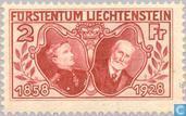 Vorst Johann II- Regeringsjubileum 70 jaar