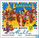 Timbres-poste - Malte - Carnaval
