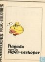 Comics - Flagada - Flagada tegen de super-verkoper