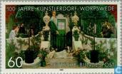 Postage Stamps - Germany, Federal Republic [DEU] - Worpswede 1889-1989