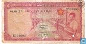 Congo Belge 50 Francs