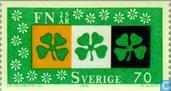 Postage Stamps - Sweden [SWE] - 25 years of UNO