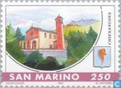 Postage Stamps - San Marino - Municipalities