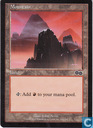 Trading cards - 1998) Urza's Saga - Mountain