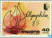 Int. Postzegeltentoonstelling OLYMPHILEX '85 Lausanne