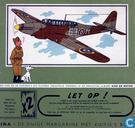 Bandes dessinées - Kuifjesbon producten - Chromo Vliegtuigen Oorlog 1939-1945