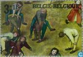 Postage Stamps - Belgium [BEL] - Children's Games