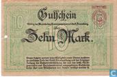 Billets de banque - Annaberg - Amtshauptmannschaft - Mark Annaberg 10