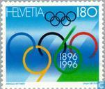 Postage Stamps - Switzerland [CHE] - Olympic Games 100 years