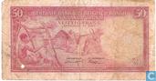 Banknotes - Banque Centrale du Congo Belge et du Ruanda-Urundi / Centrale Bank van Belgisch-Congo en Ruanda-Urundi - Belgian Congo 50 Francs