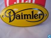 Emaille Bord : Daimler
