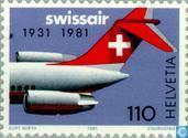 Swissair 50 years