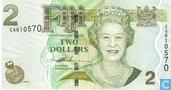 Fiji 2 Dollars (P109a)
