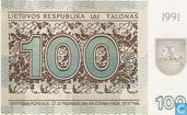 Litouwen 100 Talonas