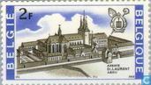 Postzegels - België [BEL] - Abdij St. Laurent