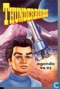 Boeken - Thunderbirds - Thunderbirds agenda 94-95