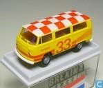 Voitures miniatures - Brekina - Volkswagen Transporter T2b 'Schiphol'