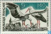Postage Stamps - France [FRA] - Nature protection- Storks