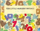 Ten little nursery rhymes