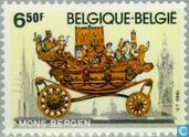 Postage Stamps - Belgium [BEL] - Cityscapes