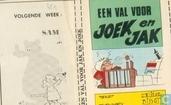 Comics - Joek en Jak - Een val voor Joek en Jak
