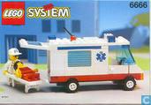 Jouets - Lego - Lego 6666 Ambulance