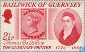 Briefmarken - Guernsey - Drucker De La Rue