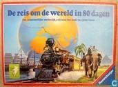 Jeux de société - Reis Om De Wereld In 80 Dagen - De reis om de wereld in 80 dagen