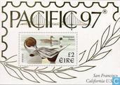 Postzegels - Ierland - Postzegeltentoonstelling Pacific '97