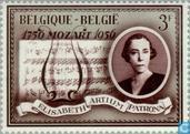 Postage Stamps - Belgium [BEL] - queen elisabeth