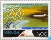 Postage Stamps - Portugal [PRT] - 25 years traffic Ministry