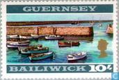 Postzegels - Guernsey - Gezichten op Guernsey