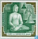 Postage Stamps - France [FRA] - Borubudur temple, Java
