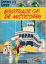 Strips - Lucky Luke - Bootrace op de Mississippi