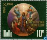 Hl. Patron église Saint-Joseph 100 années