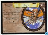 Trading Cards - Harry Potter 2) Quidditch Cup - Doxy