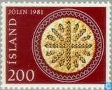 Postzegels - IJsland - Kerstbrood