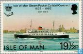 Briefmarken - Man - Post Boote 1832-1982