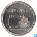 Aruba 1 Florin 1987
