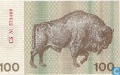 Billets de banque - Lietuvos Bankas - Lituanie 100 talonas