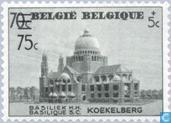 Basilica of Koekelberg with print