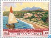 Postage Stamps - San Marino - Int. Stamp Exhibition Riccione