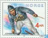 Postage Stamps - Norway - Olympic medal winners