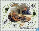 Timbres-poste - Finlande - Fonctionnaires des postes