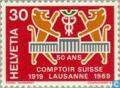 Postage Stamps - Switzerland [CHE] - Comptoir Suisse 50 years